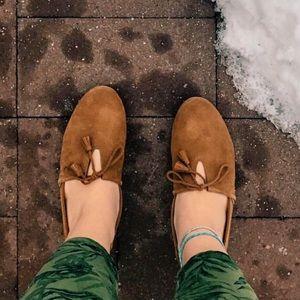 1bf6d6dbcda Toms Shoes - Dark Amber Suede Women s Kelli Flats